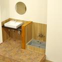 ピッコロッチャの施設洗い場